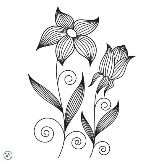 Vinilo Floral - FL.49