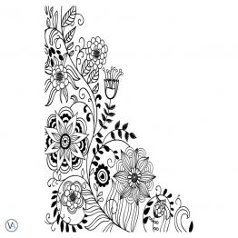 Vinilo Floral - FL.54