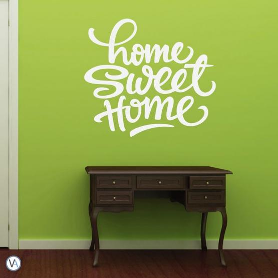 Vinilo Tipográfico - Home Sweet - TI.07