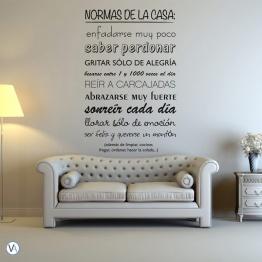 Vinilo Tipográfico - Normas de la casa TI.12